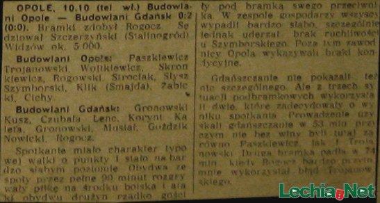 Relacja z meczu Budowlani Opole-Budowlani Gdańsk