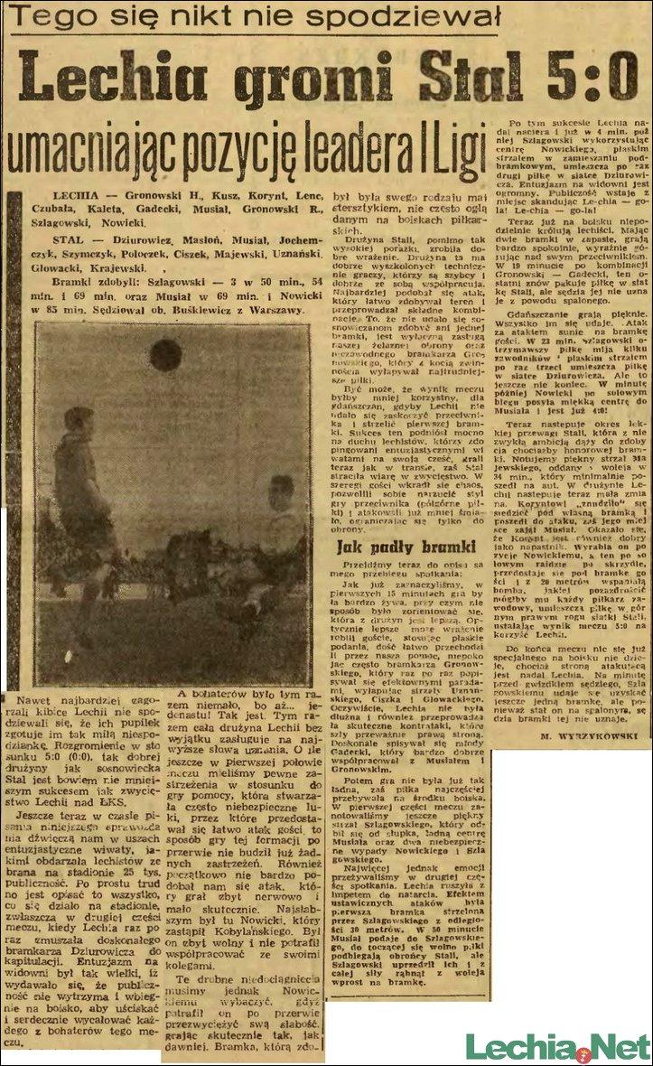1957.04.29.Lechia gromi Stal 5:0