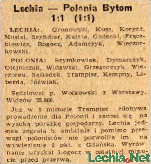 1958.07.21.Lechia-Polonia Bytom 1:1