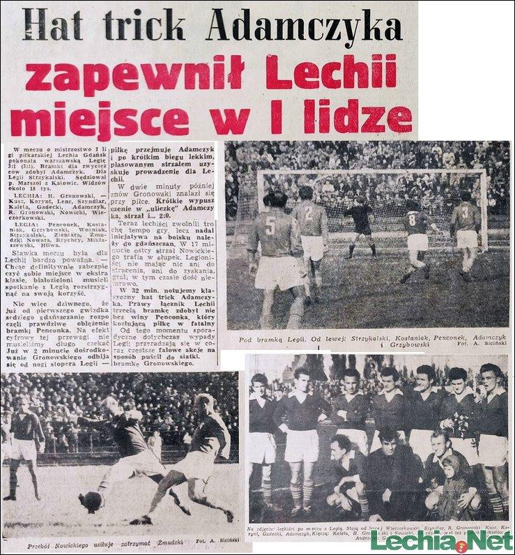 Relacja prasowa z meczu Lechia-Legia Warszawa