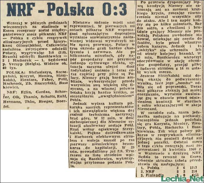 1959.11.25.NRF-Polska 0:3