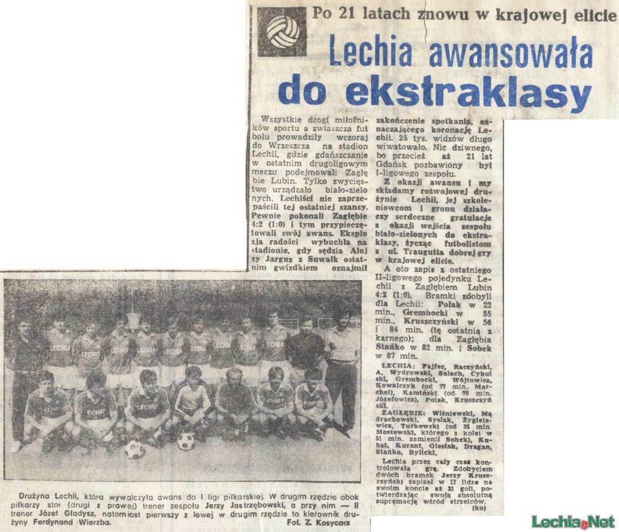 Relacja prasowa z meczu Lechia-Zagłębie Lubin
