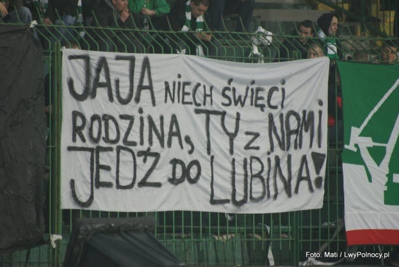 Tak Kibice Lechii zachęcali do wspierania Lechii w roku 2010