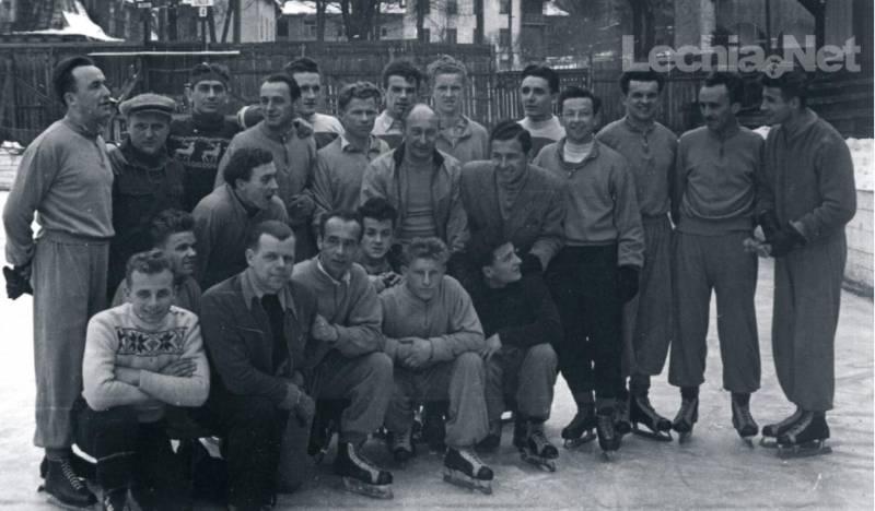 Piłkarze na łyżwach czyli Lechia podczas zimowych przygotowań do sezonu