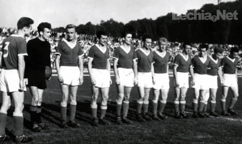 Kadra Lechii Gdańsk w sezonie 1956