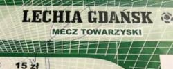 Bilet z sezonu 2013-2014 ze spotkania 2013.09.03.Chojniczanka Chojnice-Lechia Gdańsk