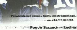 Bilet z sezonu 2013-2014 ze spotkania 2013.09.15.Pogoń Szczecin-Lechia Gdańsk