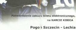 Bilet z sezonu 2013-2014 ze spotkania 2014.05.10.Pogoń Szczecin-Lechia Gdańsk