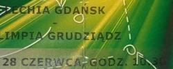 Bilet z sezonu 2013-2014 ze spotkania 2014.06.28.Lechia Gdańsk-Olimia Grudziądz