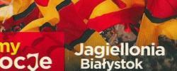Bilet z sezonu 2014-2015 ze spotkania 2014.07.19.Jagiellonia Białystok-Lechia Gdańsk