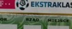 Bilet z sezonu 2014-2015 ze spotkania 2015.04.26.Lechia Gdańsk-Górnik Łęczna