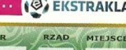 Bilet z sezonu 2014-2015 ze spotkania 2015.05.15.Lechia Gdańsk-Wisła Kraków