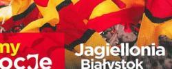 Bilet z sezonu 2014-2015 ze spotkania 2015.06.07.Jagiellonia Białystok-Lechia Gdańsk