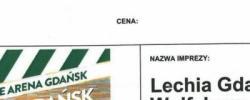 Bilet z sezonu 2015-2016 ze spotkania 2015.07.12.Lechia Gdańsk-VFL Wolfsburg