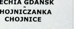 Bilet z sezonu 2016-2017 ze spotkania 2017.02.01.Lechia Gdańsk-Chojniczanka Chojnice