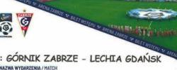 Bilet z sezonu 2018-2019 ze spotkania 2019.02.27.Górnik Zabrze-Lechia Gdańsk