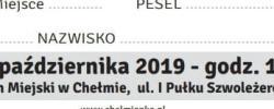 Bilet z sezonu 2019-2020 ze spotkania 2019.10.30.Chełmianka Chełm-Lechia Gdańsk