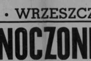 Plakat z sezonu 1946 ze spotkania 1946.06.09 Lechia Gdańsk-Zjednoczenie Łódź