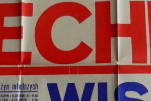 Plakat z sezonu 1960 ze spotkania 1960.05.15 Wisła Kraków-Lechia Gdańsk