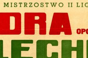 Plakat z sezonu 1967 ze spotkania 1967.06.11 Lechia Gdańsk-Odra Opole